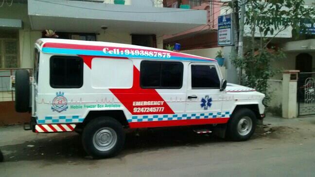 Ambulance and Freezer Box Services - by Grace Ambulance Services, Visakhapatnam