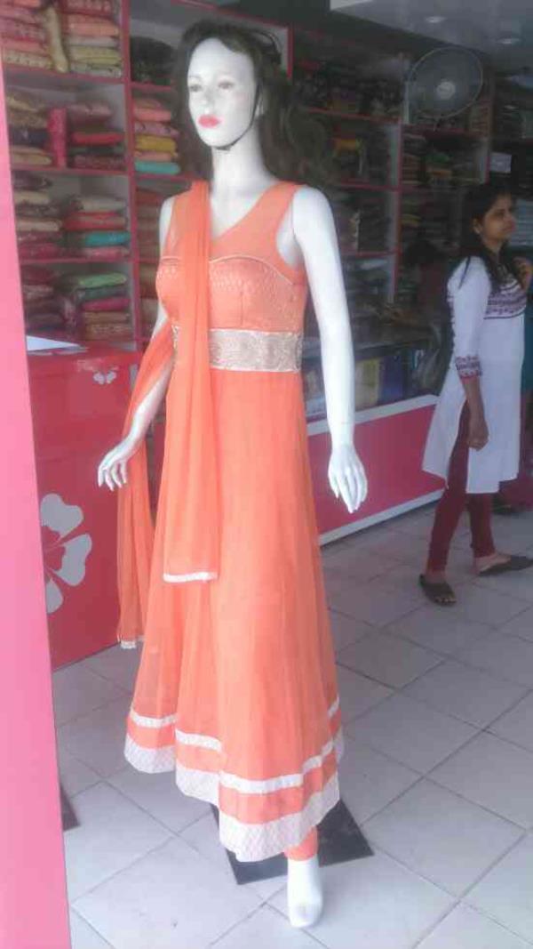 anarkali suit at navya store  - by Sree navya , Hyderabad