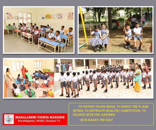 ACADEMIC SESSION - by Mahalashmi Vidhya Mandhir, Chennai