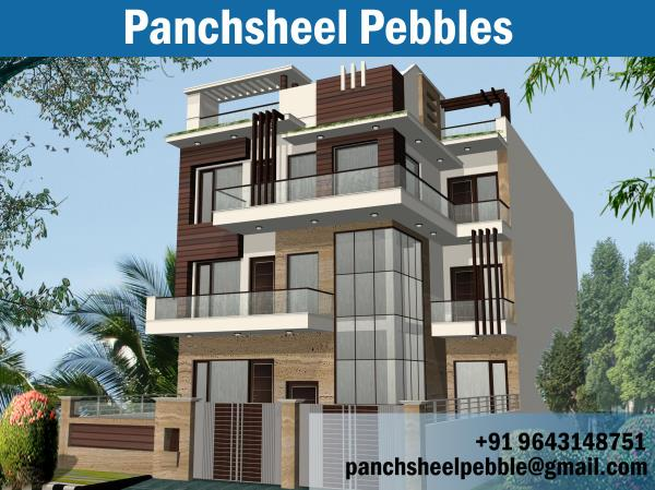 Panchsheel Group has chosen to bring this new premium scope of township coordinating all yearnings of clients. With every new building, the organization has left another line of extension in this township.  1 bhk builder flats in ghaziabad, - by Panchsheel Pebbles, Ghaziabad