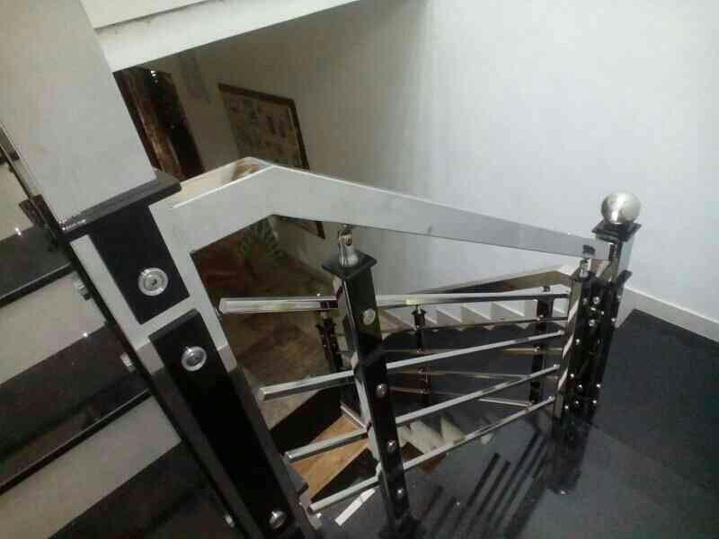 Stainless Steel  step Railing  we undertake all types of Stainless Steel Works.  - by SSERA, Kozhikode