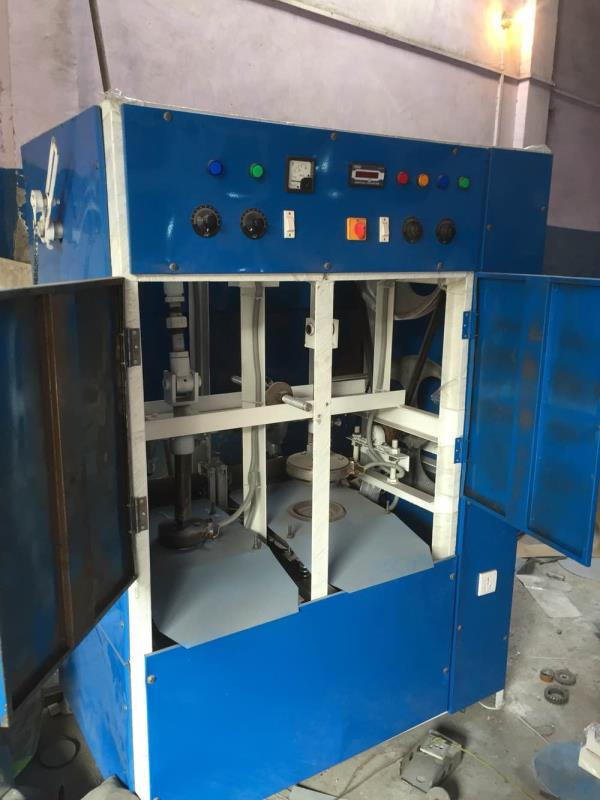 Paper dona making machine fully automatic work . Machine price are rs 65000/ and die free and training free you can earn for this small bussiness lots of money if you are hard worker you try this bussiness  - by Paper dona making machine, New Delhi