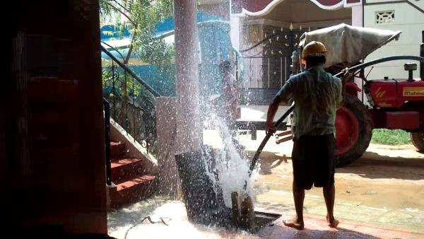 Borewell Cleaning Process - by Sree Mahalakshmi Bore Wells, Chennai
