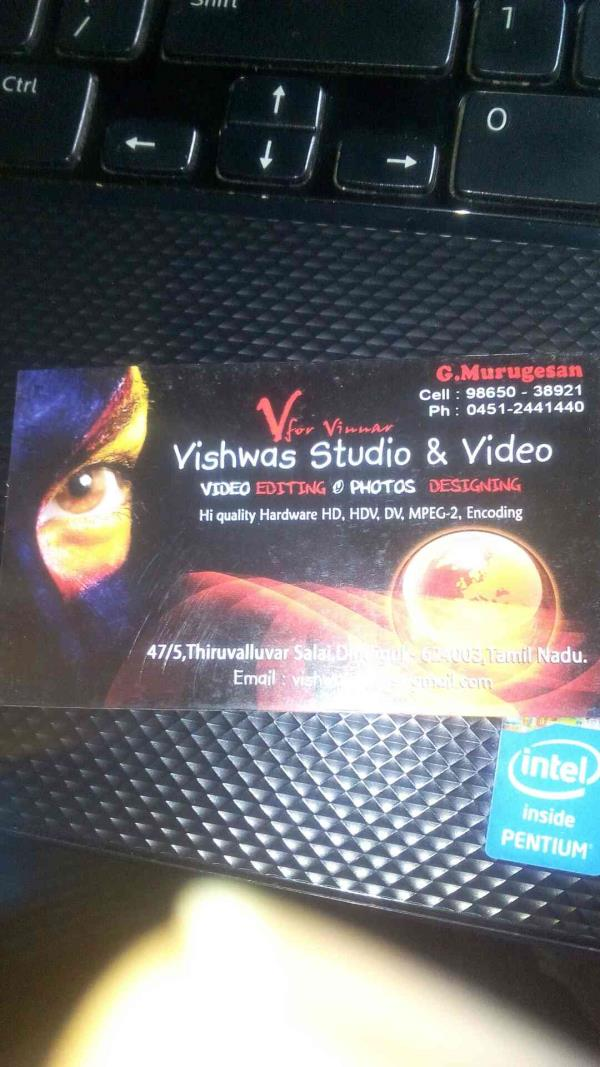 Photography in dindigul - by Vishwas studio & Video, Dindigul