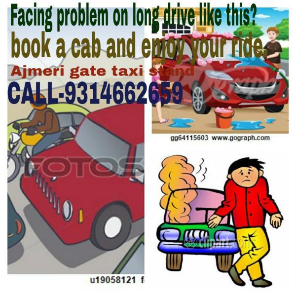 for taxi quaries call 9314662659  - by Ajmeri Gate Taxi Stand, jaipur