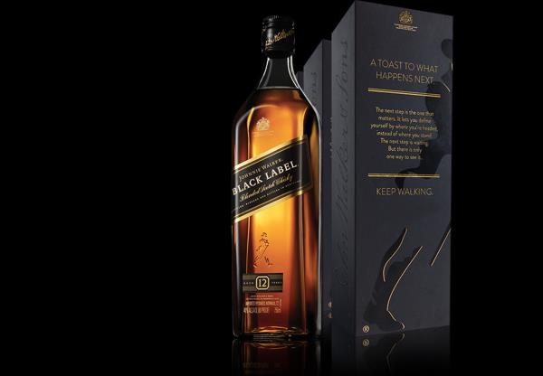 The original Walker family blend, handcrafted from as many as 40 of the finest Scotch whiskies aged a minimum of #12years, for a smooth and robust blend. Rich smoky malt, peat and sherry fruit character deliver a satisfyingly complex flavor - by Online Wines | Home Delivery, Visakhapatnam