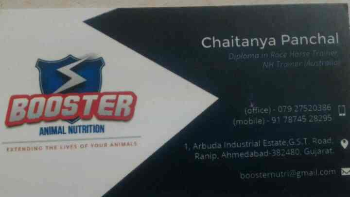we are one of the leading manufacturer of animal foods and nutrition in ahmedabad  - by Booster Animal Nutrition , Ahmedabad