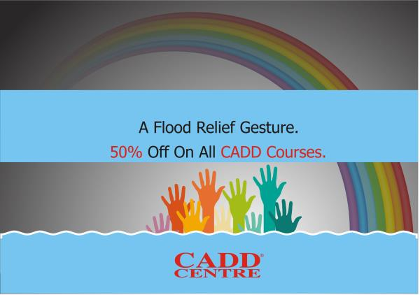Flood Relief Offer - by CADDCentrechrompet, chennai