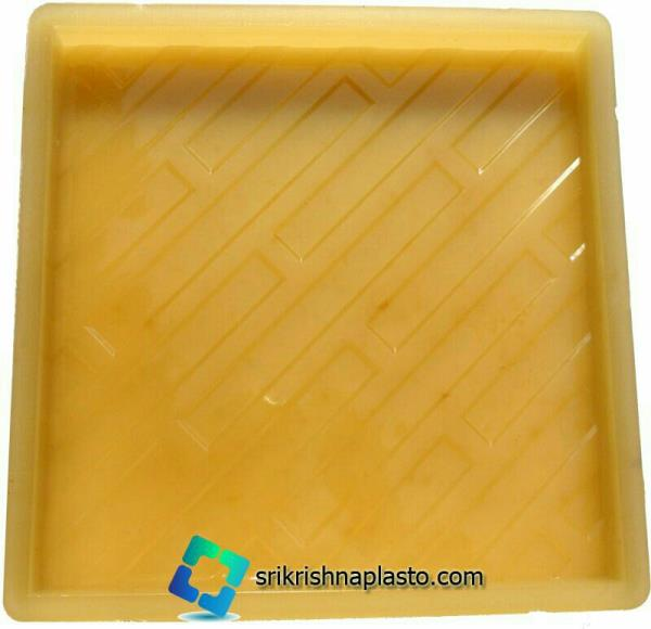 """""""Rubber Moulds for Designer Concrete Tiles"""" manufacture and export by SRI KRISHNA PLASTO. our rubber moulds for designer concrete tiles are computerized design and developed by our designing team.  because of computerized design its highly  - by interlocking paver block making machine, Delhi"""