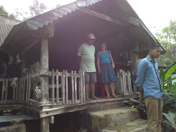 Foreign Guests visiting Haflong tribal villages - by Safar Cab, GUWAHATI