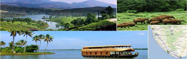 Kerala tours - by N Joe World wide Holidays, Shimla