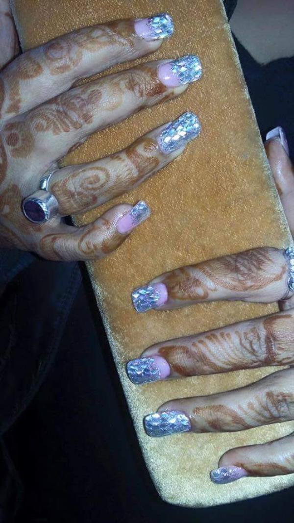 Trendy Nails at the best nail art studio at north Delhi near to model town... - by Prerita Kcreations @ 9810993970, Delhi