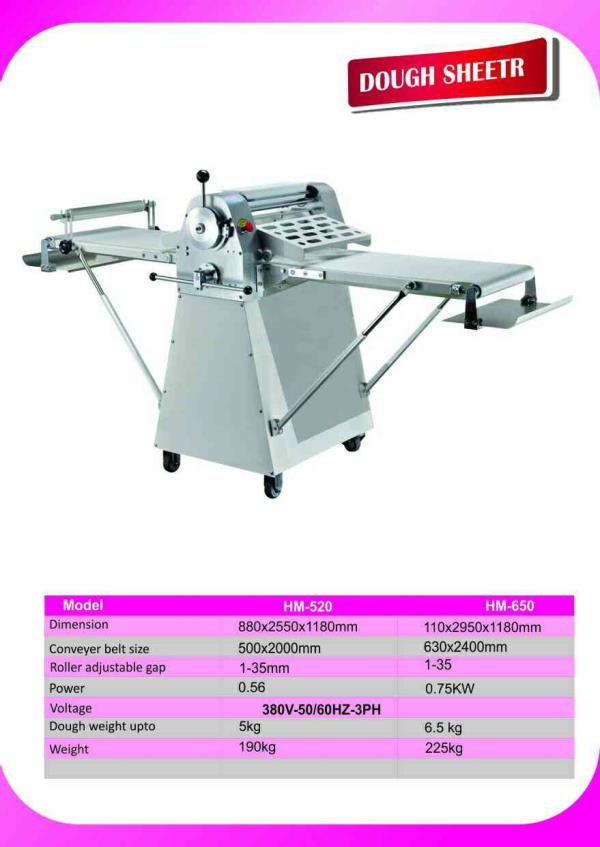 puffs sheeter - by Techno Spark Bakery Equipments, Coimbatore