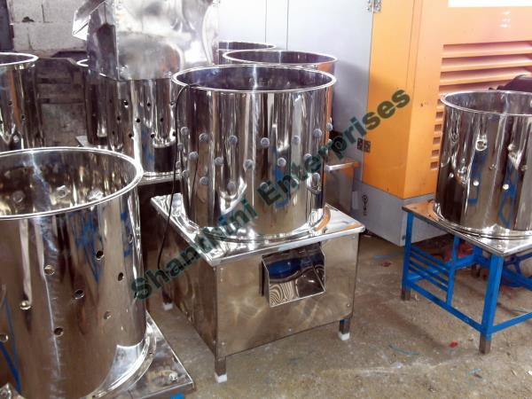 We are providing the better quality Chicken Dressing Machine, Poultry Processing Machines, Chicken Plucking Machines, etc. - by Shanthini Enterprises, Coimbatore