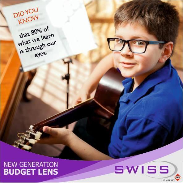 Get 30 % off on Swiss lens - by Goa Optical, New Delhi