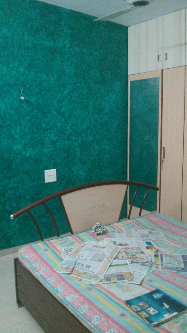 Texture Painting from Quick Services in kothrud depot sight. - by Quick Services, Pune
