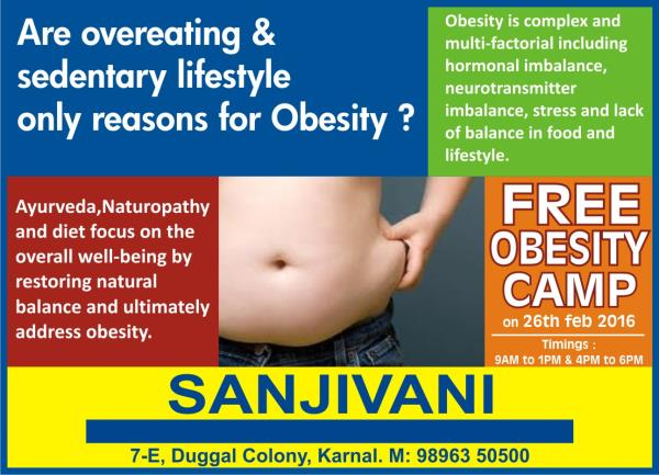obesity camp  - by Sanjivani Health care, Delhi