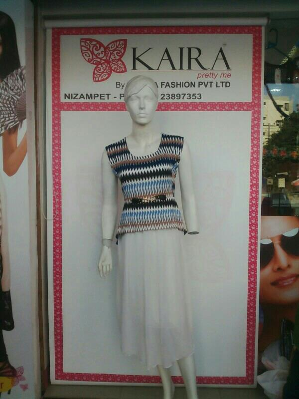 Western middy  Size L to XL  MRP - 1320/- - by Kaira Nizampet , Hyderabad