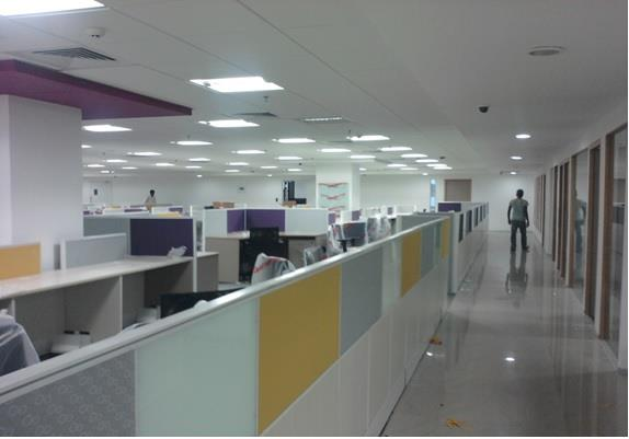 Interior civil work for Tidel Park at peelamedu in Coimbatore  Client for M/s.90 degree, VESTIAN, MIRRILL(2011)  - by United Builders, Chennai