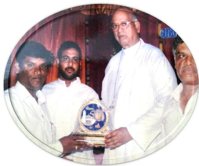 Golden Jubilee  Memontem received our MD Mr c.vijayakumar  from Most Rev Dr A M Chinnappa SDB DD  Archbishop of Madras – Mylapore President, TNBC  - by United Builders, Chennai