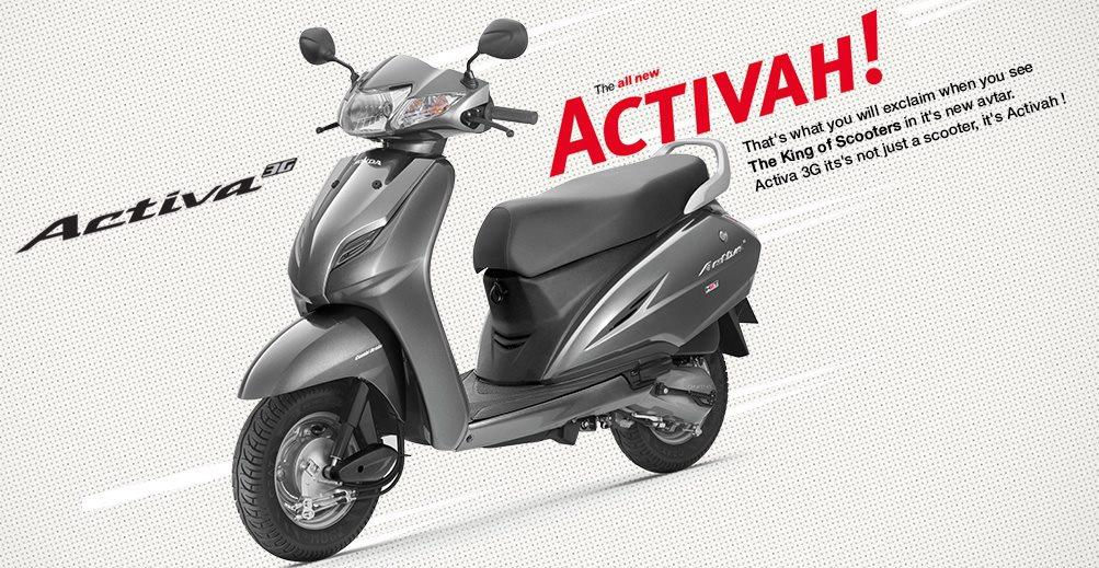 NEW HONDA ACTIVA 3G ALL COLOURS AVAILABLE AND IMMEDIATE DELIVER.  FINANCE OPTIONS AVAILABLE  we deal in all kinds of New and Latest used two wheeler. All Used two wheeler in Show room condition with reasonable pricing Visit our Multi brand  - by Bikes Mart, Chennai