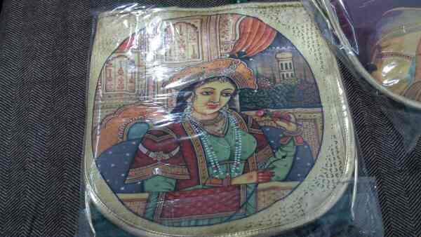 ladies digital print hand bag - by Sanzays Cashmere Craft, jungpura bhogal