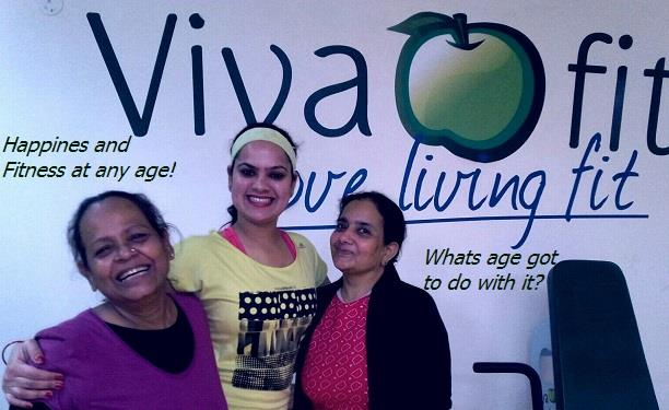 #Fitness has no age! At #Vivafit we keep breaking the age barrier every day! Tons of success stories to share and most of them are not about weight loss. They are about gaining confidence, strength, energy and the zest to take on life and W - by Vivafit, Delhi