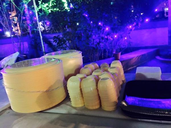 Society Annual Satyanaranyan Puja with Evening dinner .  - by Anita Caterers, Mumbai