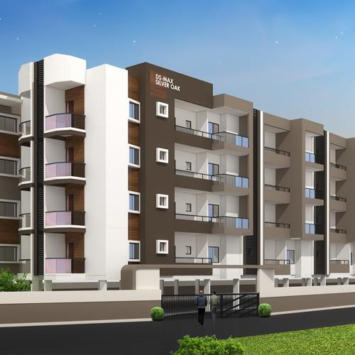 DS-MAX Silver Oak apartment offer everything that one needs to lead an effortless lifestyle. An awe-inspiring apartment perfectly priced to lead a magnificent life.  - by Preprop properties, Bangalore