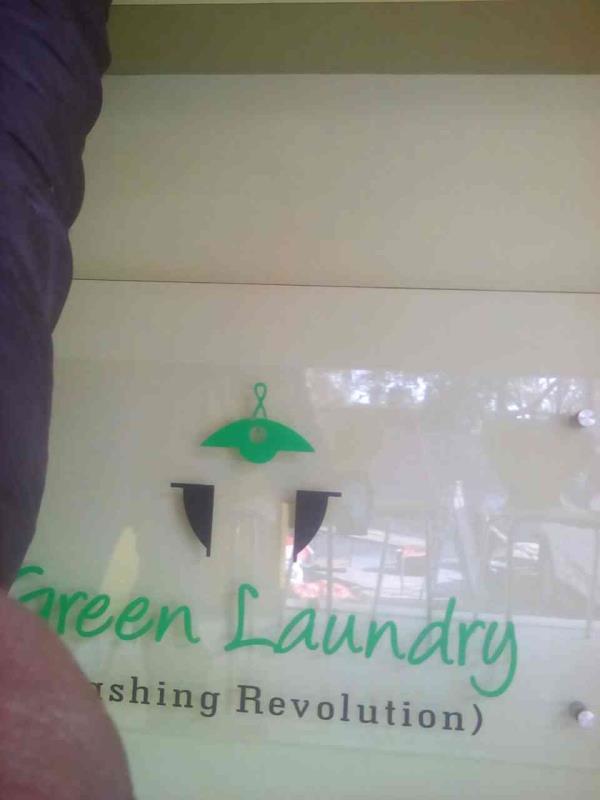 washing revolution - by Green Laundry, Delhi