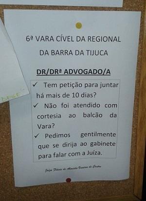 Como todas as varas deveriam ser - by Advocacia , São Paulo
