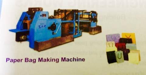 Saaar Engineering Works is a leading Manufacturer of Paper Bag Making Machine in Telangana - by Saaar Engineering Works, Hyderabad