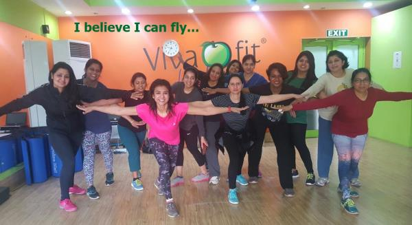 The amount of confidence women gain when they start a physical activity is amazing! It begins with just start spending time on themselves, be it yoga, gym, running or any outdoor sport! You will get to know how capable your body is, you wil - by Vivafit, Gurgaon