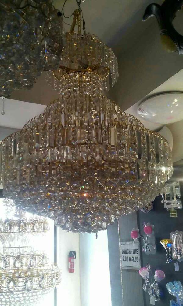 800 mm kristal chandelier in ILENLTES Dindigul  - by Ilen Lites , Dindigul