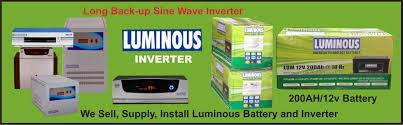 Access Power Care System is the reputed supplier and service provider of all type of Luminous Inverter in Hyderabad and Andhra Pradesh. Luminous Higher 2 KVA Inverter: Note : Indicative value only, Actual Calculation Depends on Manufacture - by Suppy & Installations,AMC,Service & Repair ,Rental/Hire of  UPS, Hyderabad