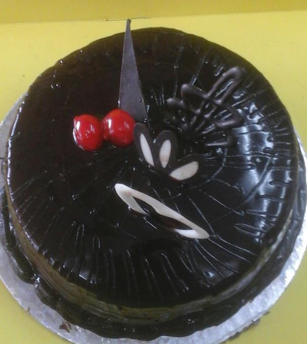 Dark is better....try brownie truffle cake... - by The Daily Bread, Ghaziabad