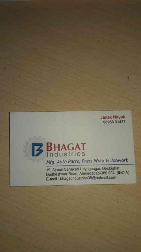 auto parts menufcturets in India  best prouduct available in Bharat Industries call : 9988776655  - by Bhagat Industries, Ahmedabad