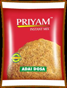 Manufacturers of Adai Dosa Instant Mix  Priyam Foods is one of the leading Manufacturers of Adai Dosa  Instant Mix in high quality raw material. And it highly tasty while cook into your homes.  For more info:  www.priyamfoods.com   - by Priyam Foods, Tirunelveli