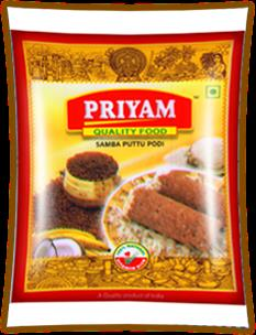 Wholesalers of SAMBA Puttu Podi Powder  We are Manufacturing and Wholesalers of SAMBA Puttu Podi Powder.  For more info:  www.priyamfoods.com  - by Priyam Foods, Tirunelveli