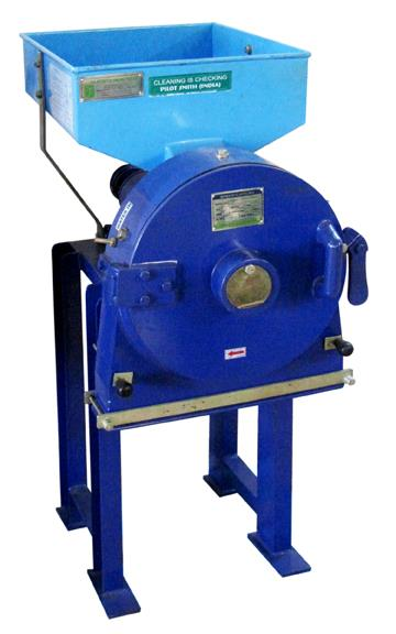 Single stage pulverizer: Mini pulverizer is a multipurpose machine for size reduction by using beaters and liners. The fineness of the product can be achieved by changing the sieves.     Specifications    Capacity:   5 - 500 Kg/ hr. - by Sri Ganesh Mill Stores, Coimbatore