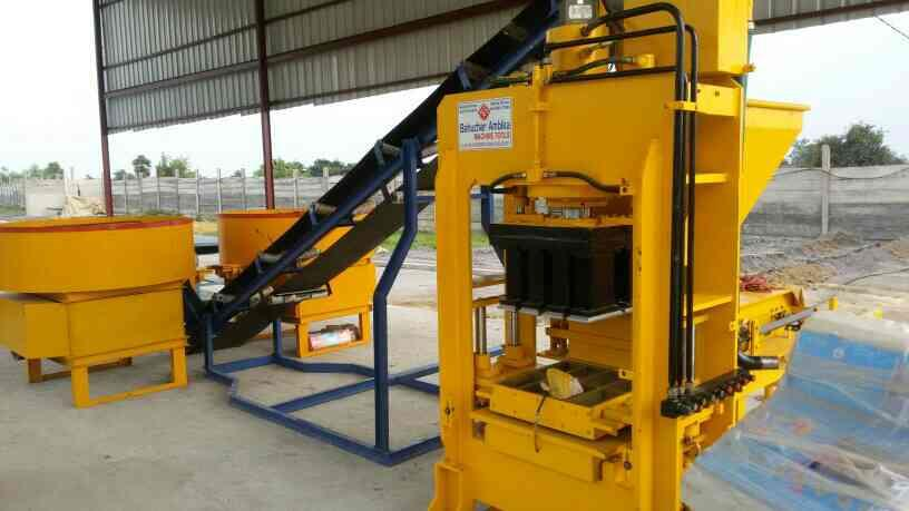we are best quality of automatic fly ash Brick making  machine in Morbi - by Bahuchar Ambika Machine Tools, Rajkot
