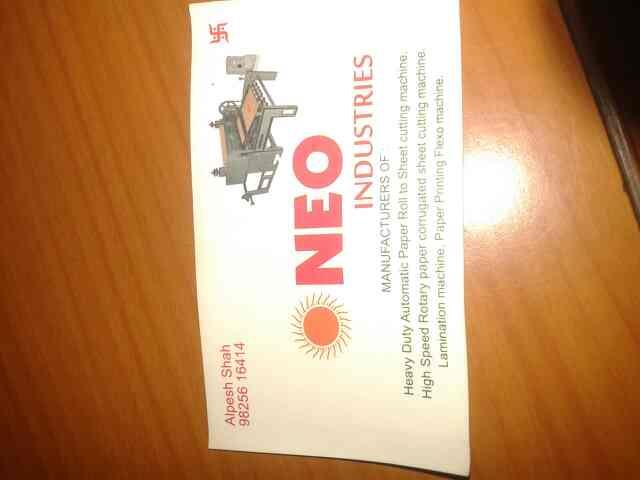 best machinery supplier in dudheshwar  - by Neo Industries, Ahmedabad
