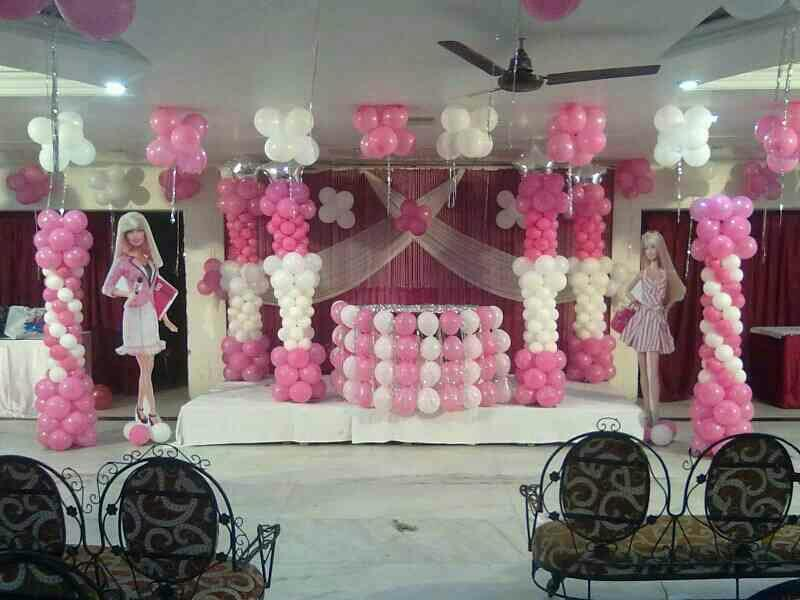 Barbie Theme Birthday Party for our little dolls. For more themes..