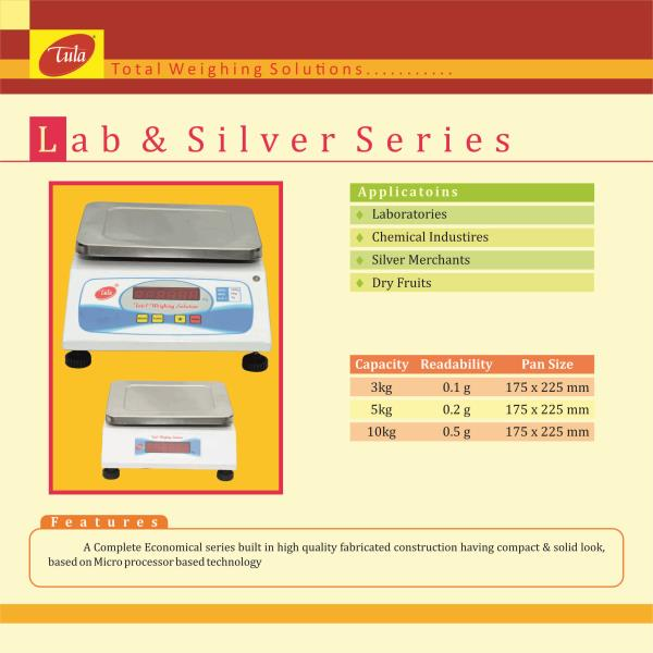 Venkateshwara Weighing Scales is the Manufacturer and Supplier of  Lab and Silver scale weighing scales in Hyderabad and Telengana.It's economy and reliability come together with the elegantly designed technology. Featuring easy to use oper - by Venkateshwara Weighing Scales, Hyderabad