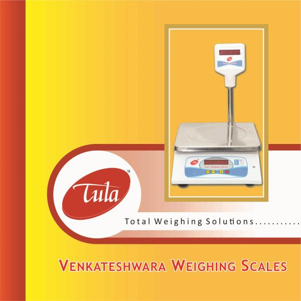 Venkateshwara Weighing Scales is the Manufacturer, Supplier and Service Provider of all type of Electronic Weighing Scales in Hyderabad, Telengana and Andhra Pradesh.  http://www.tula.co.in/ - by Venkateshwara Weighing Scales, Hyderabad