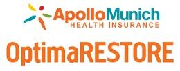 APOLLO MUNICH HEALTH INSURANCE BEST AWARDED OPTIMA RESTORE PLAN GIVES YOU UP TO 3 TIMES BENEFITS WITH 50 % BONUS, ALL DAYCARE PROCEDURES, RESTORE BENEFIT, TAX BENEFIT U/S 80 -D, LIFE LONG RENEWAL WITH BENEFITS OF FLOATER AND INDIVIDUAL PLAN - by Health Insurance Deals @ 8506878301, Delhi