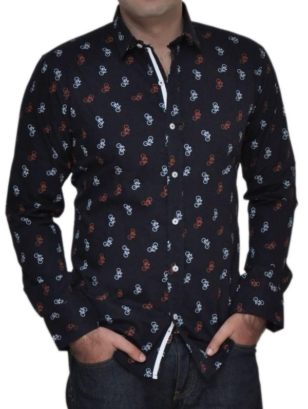 Black Formal Shirt for men. All Sizes available. - by Aelux india retail Pvt.Ltd., New Delhi