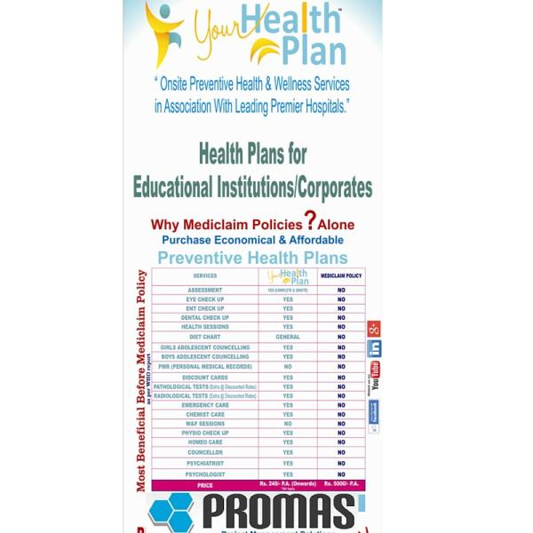 Your Health Plan: Preventive Health Plans for Corporates & Educational Institutions - by Promas India, New Delhi
