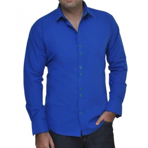100% Cotton - Tailored Fit - Adjustable Convertible Cuffs -Eassy Care Finishing That Requires Less Ironing - Spread Collar -Removable Collar Stays- Machine Washable Or Hand Wash - X Buttons - X Collection  - See more at: http://aelux.in/ind - by Aelux india retail Pvt.Ltd., New Delhi