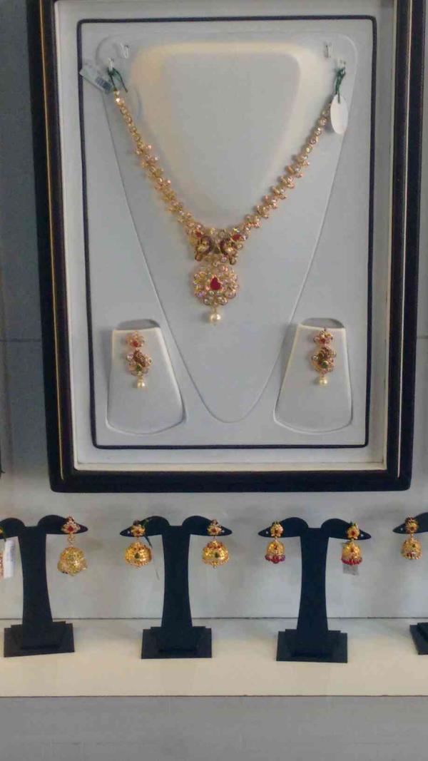 best neclace sets available - by Devishree Jewellers, Moosapet X Road Moosapet